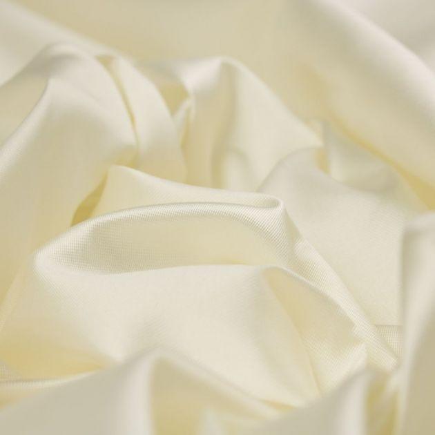 Tecido Zibeline Seda Pura Off White